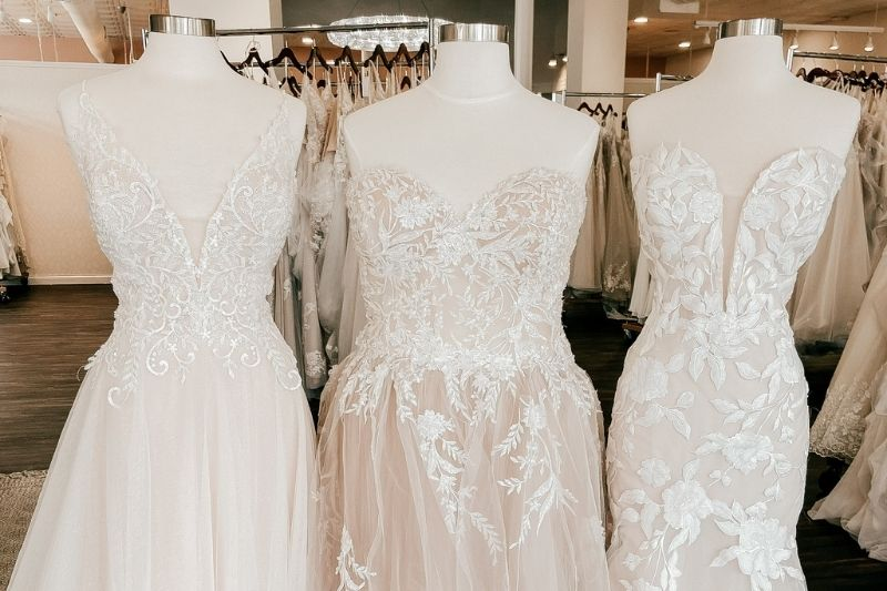 different wedding dress styles