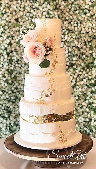 fault line wedding cakes