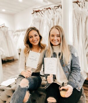 Upgrade your bridesmaids party shopping experience with a little extra fun! -Appointments during regular business hours -Sweet treats -Refreshments For more information or to schedule your Bridesmaid Party Appointment, email hello@sophiasbridalandtux.com or fill out the contact form!