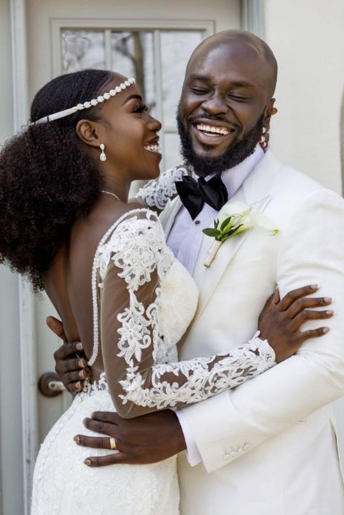 Headband Wedding Look