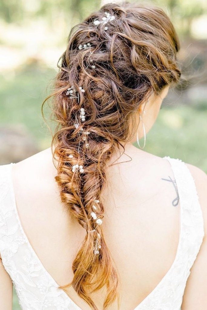 Waterfall Braid for your Wedding Day Hairdo