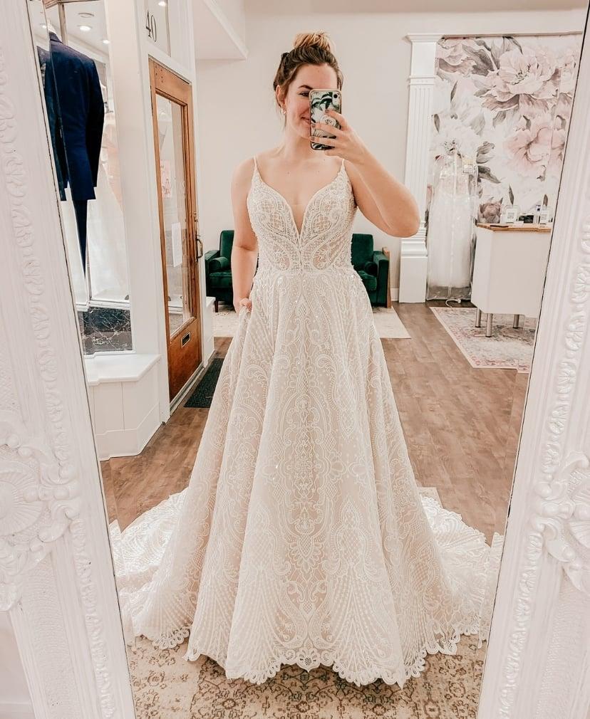 boho aline dress