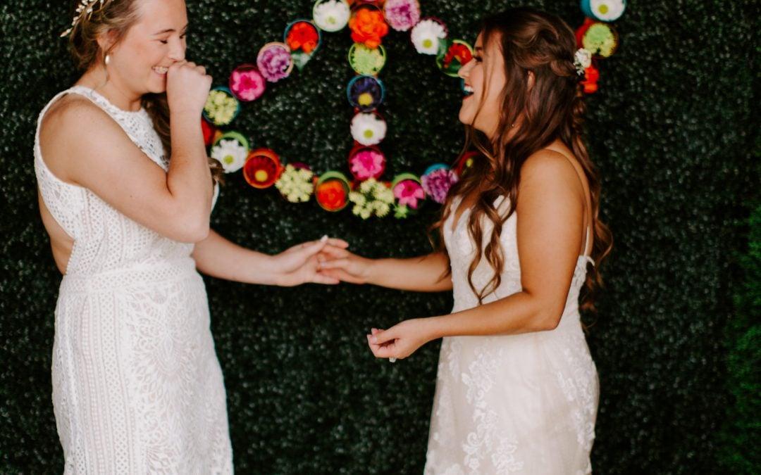 Real Sophia's Brides | Megan + Allyson
