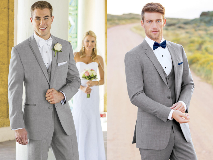 Difference between a suit and a tux