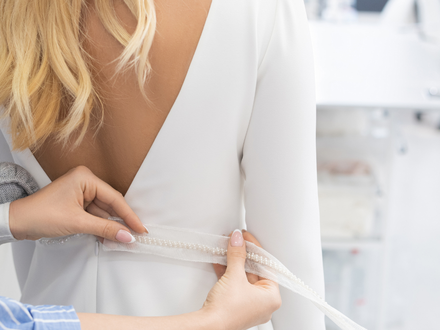 What to Expect with your Bridal Alterations
