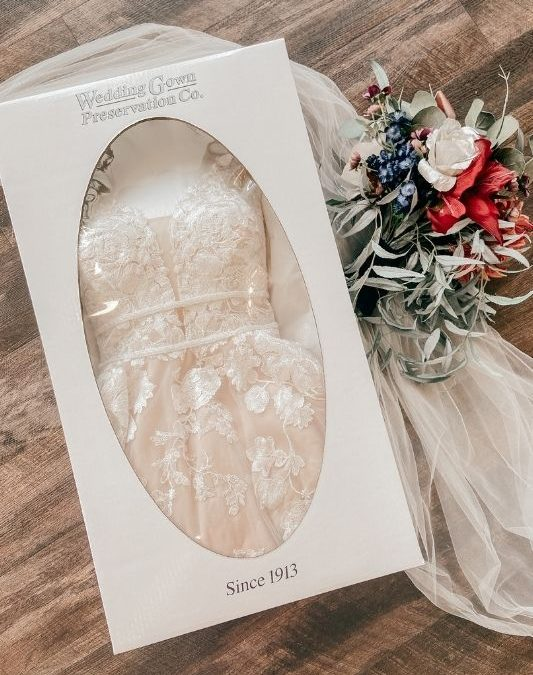 9 Benefits of Wedding Gown Preservation