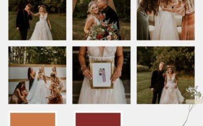 2022 Wedding Color Palette Trends