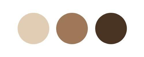 muted neutrals wedding color palette