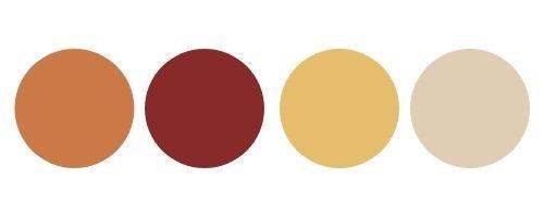 earth tones color palette
